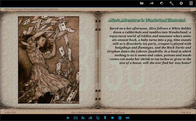 AlReader скриншот