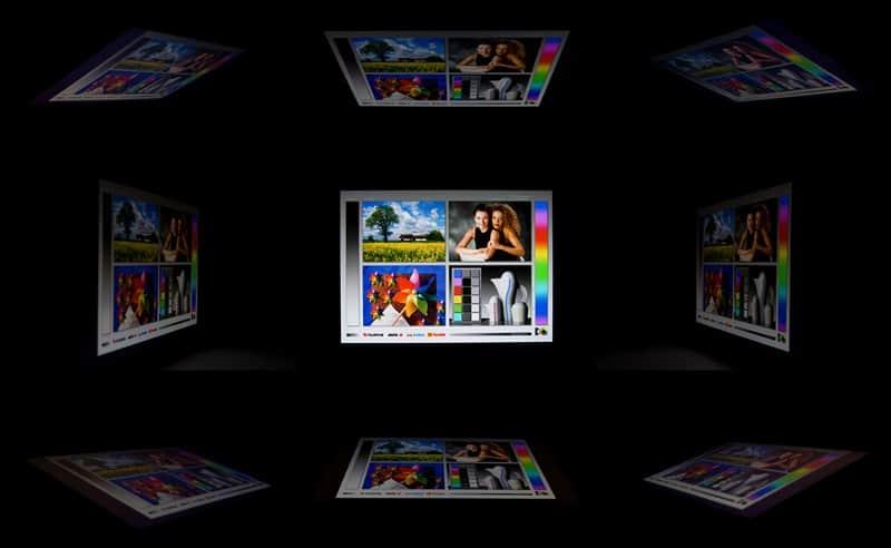 Углы обзора Samsung Galaxy Tab 10.1