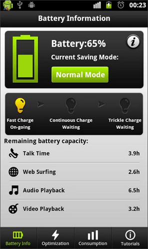 программа Easy Battery Saver