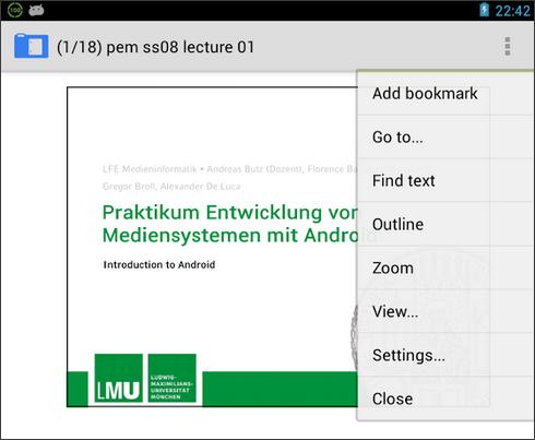 AnDoc - PDF і DjVu Reader