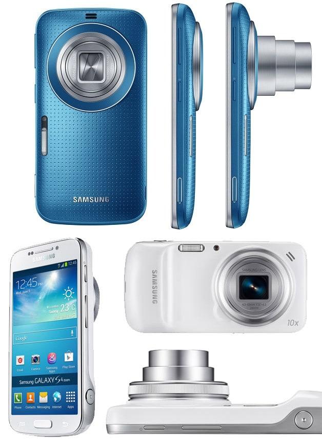Galaxy S4 Zoom и Galaxy K Zoom