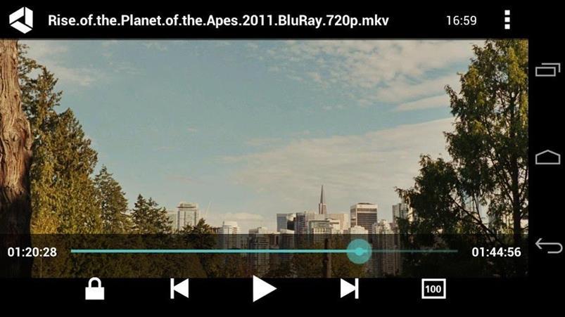 скриншот VPlayer