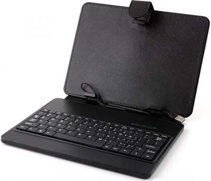USB клавиатура в чехле для планшета