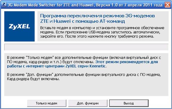 программа 3GSW от ZyXel