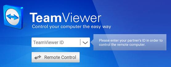 приложение TeamViewer на Андроид