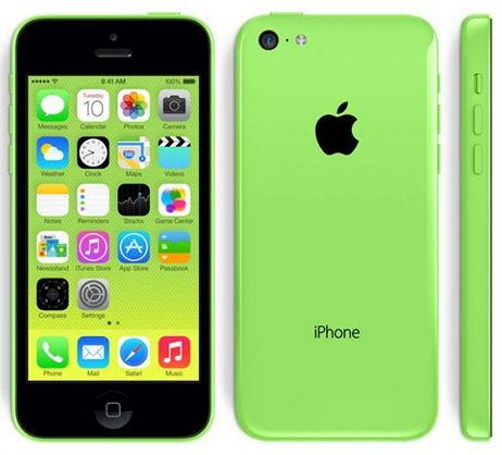 Внешний вид iPhone 5c