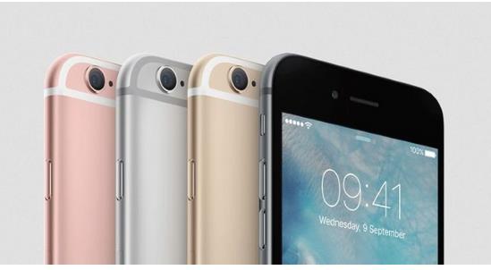 цветовая гамма iPhone 6s