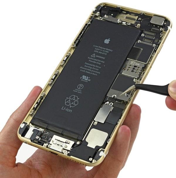 аккумулятор iPhone 6s и iPhone 6s plus