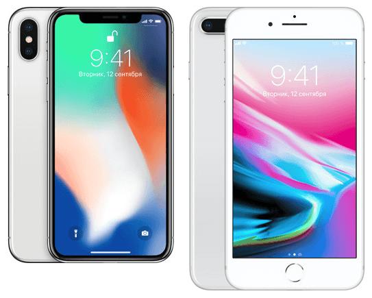 новый дизайн iPhone X