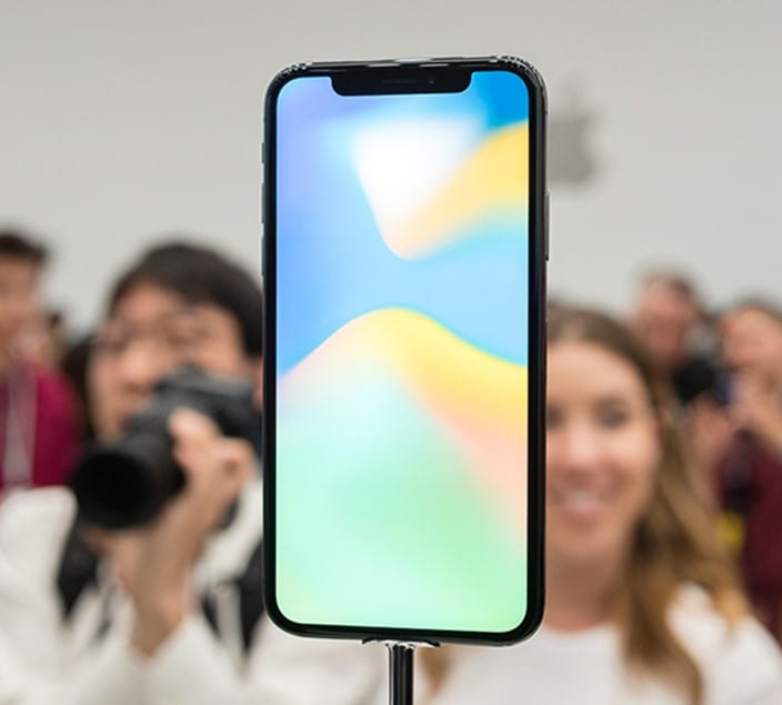 новый экран iPhone X
