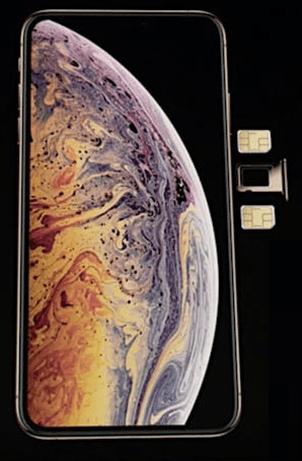 сравнение возможностей сотовой связи iPhone X и iPhone XS