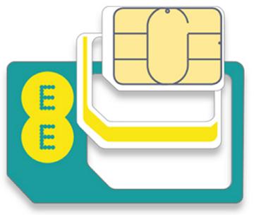 Nano-SIM карта и переходники на Mini и MicroSIM
