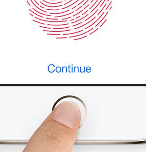 использование Touch ID