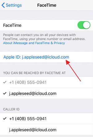 Как включить FaceTime