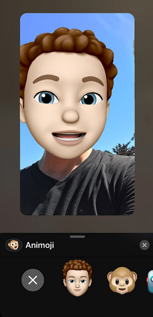 Memoji в FaceTime