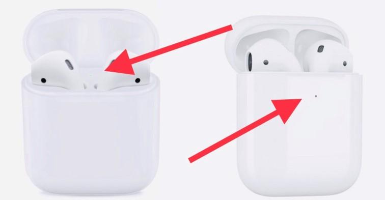 индикатор заряда батареи на airpods