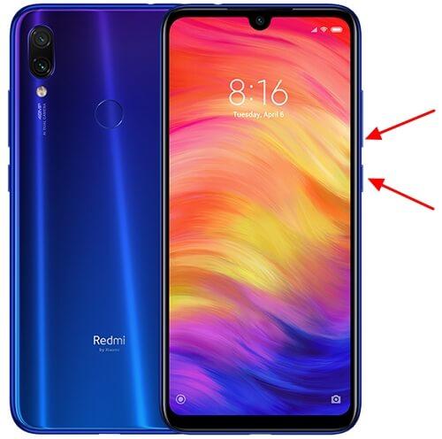 как сделать снимок экрана на Xiaomi