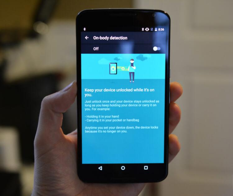 настройки Google Smart Lock