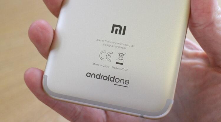 задняя крышка глобальной версии Xiaomi