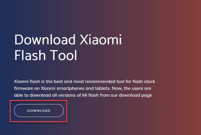 сброс телефона Xiaomi через компьютер