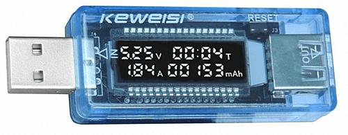 USB тестер для проверки емкости батареи